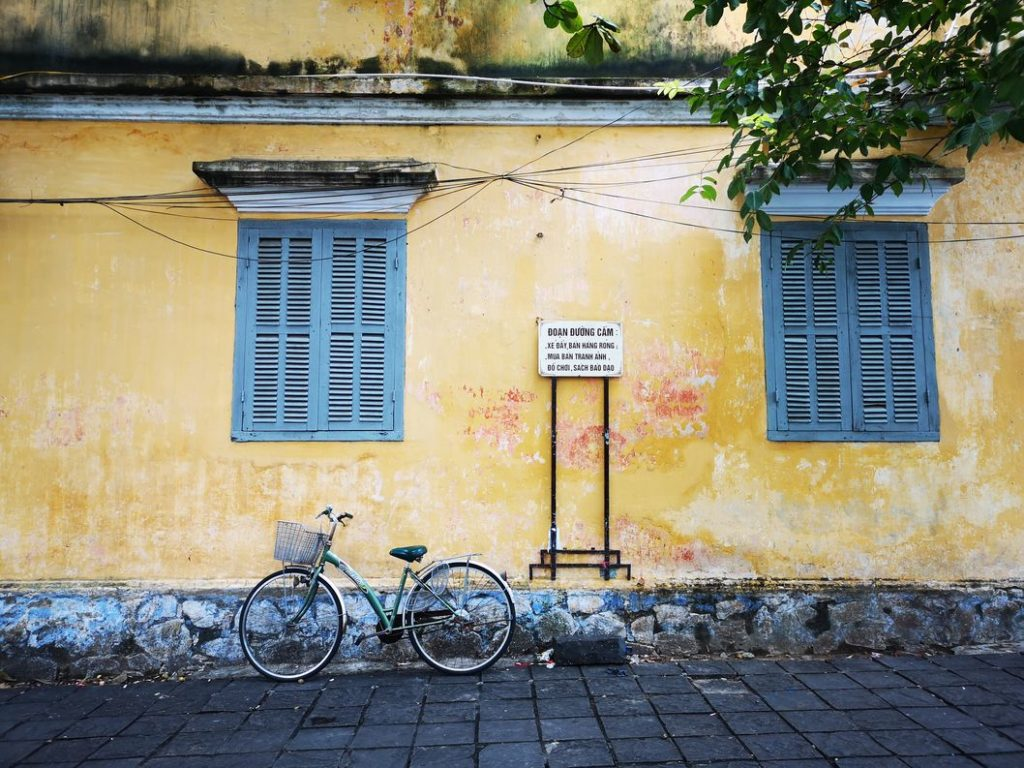 Mur coloré de Hoi an