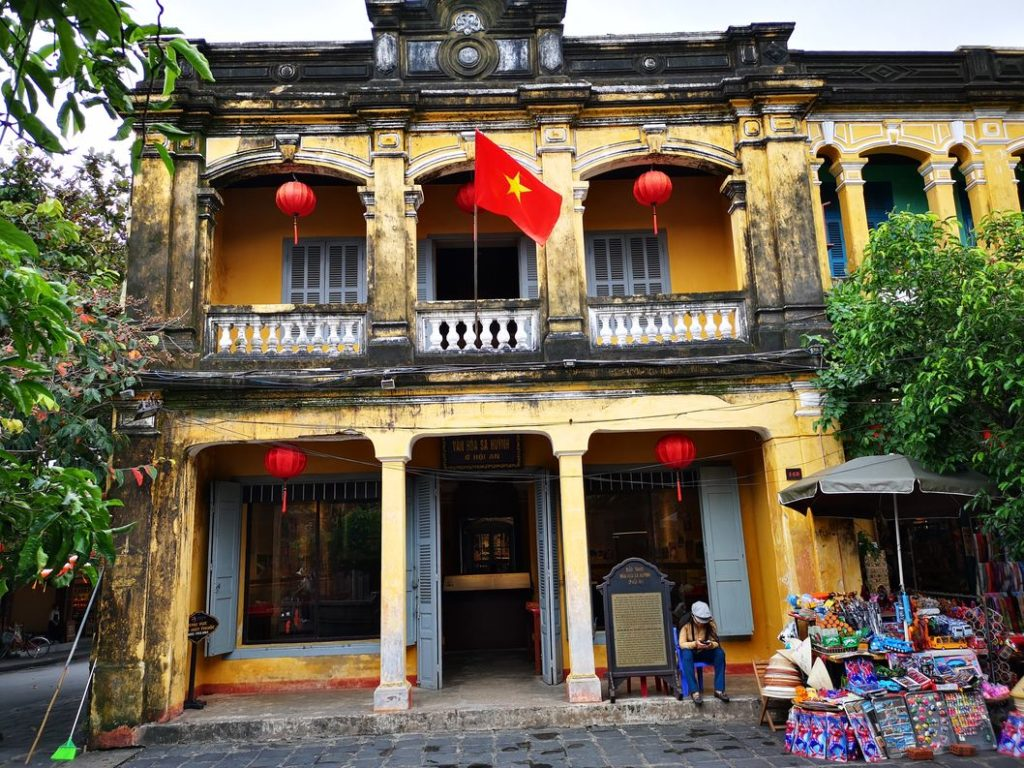 Bâtiment coloré de Hoi An