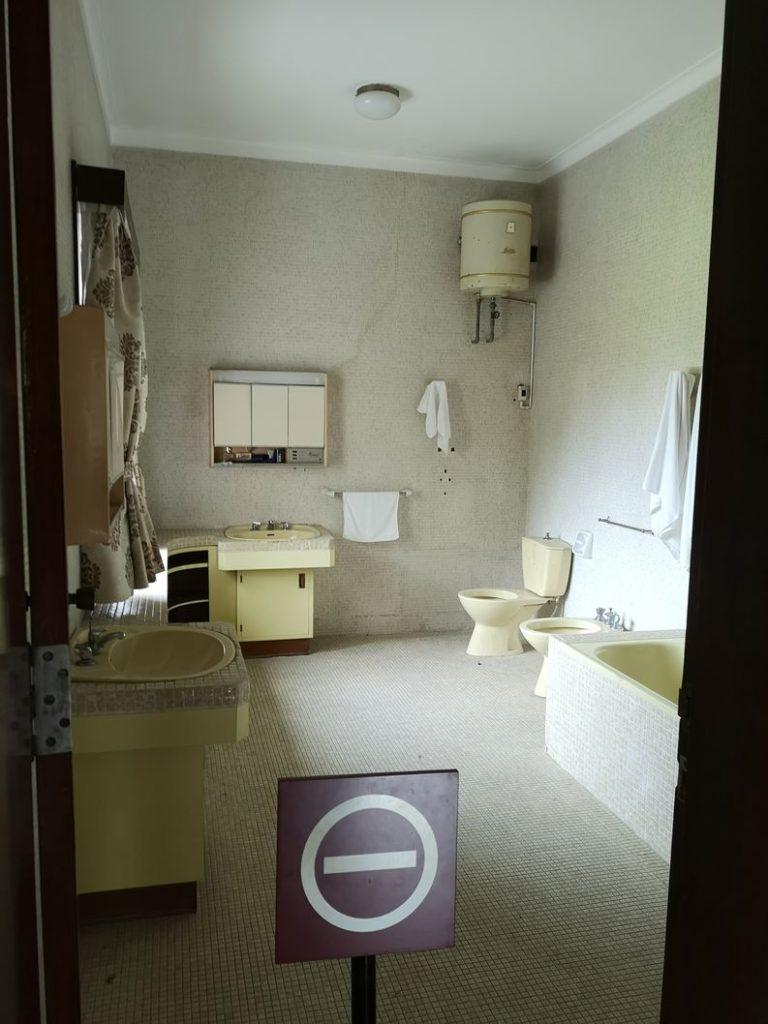 Salle de bain du président