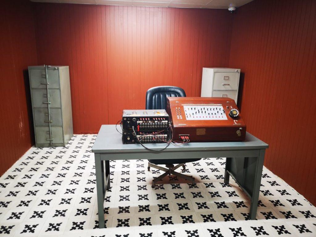 Autre salle de communication du bunker