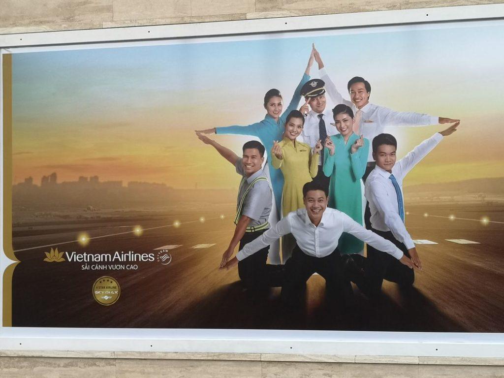 Publicité pour Vietnam Airlines