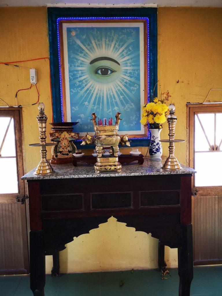Un autre autel à l'étage