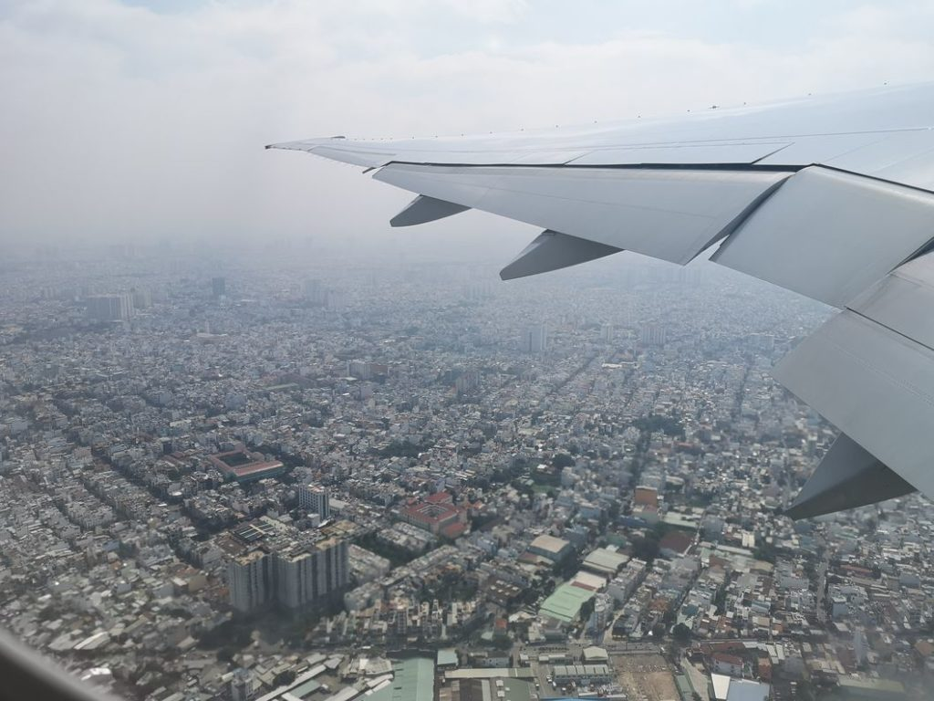 Survol d'Ho Chi Minh City