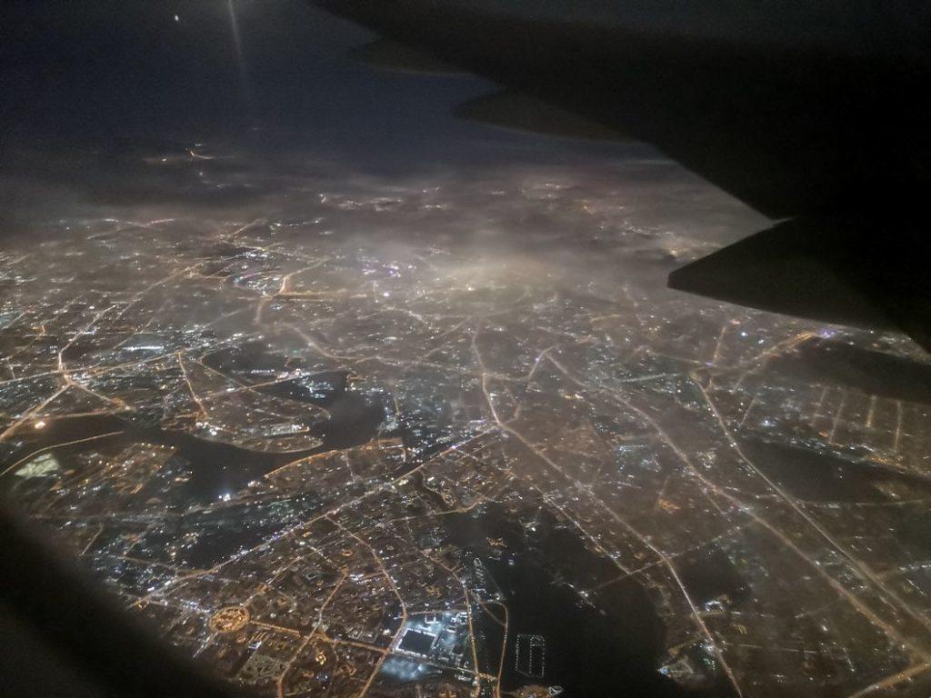 Survol de Moscou
