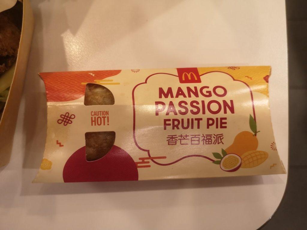 La fameuse tarte mangue/fruits de la passion