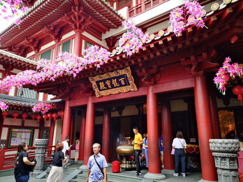 Entrée du Temple de la Relique de la Dent de Bouddha