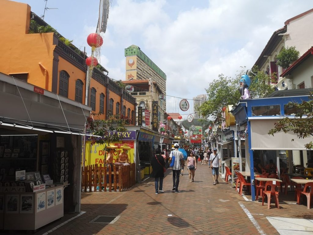 Autre rue commerçante de Chinatown