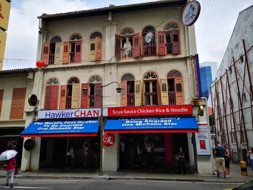 Le Hawker Chan de Chinatown, le seul fastfood étoilé au guide Michelin