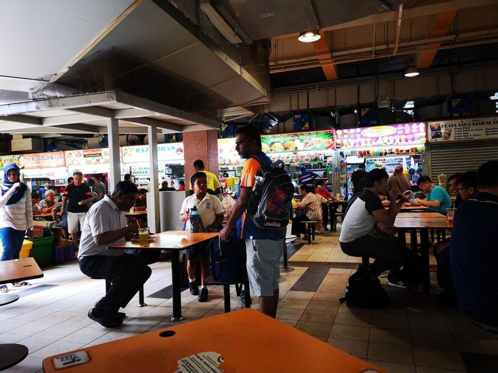 La food court du Tekka Centre