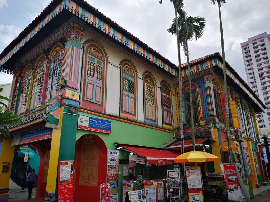 Autre façade de la Tan Teng Niah House à Little India