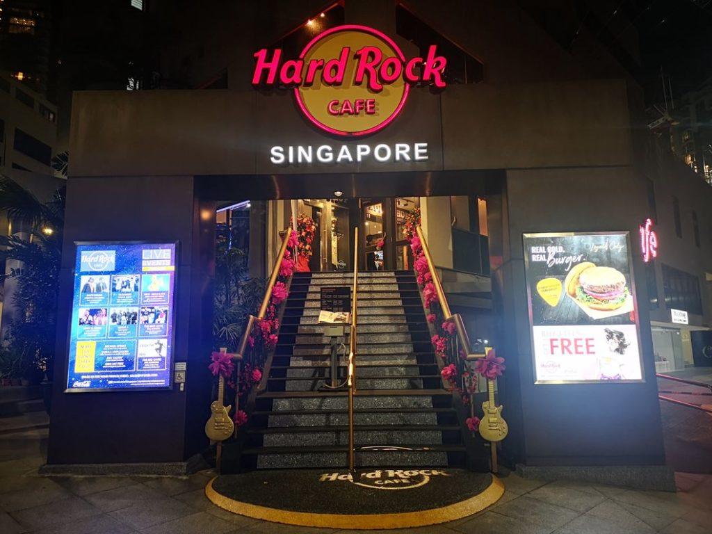 Le Hardrock Café de Singapour