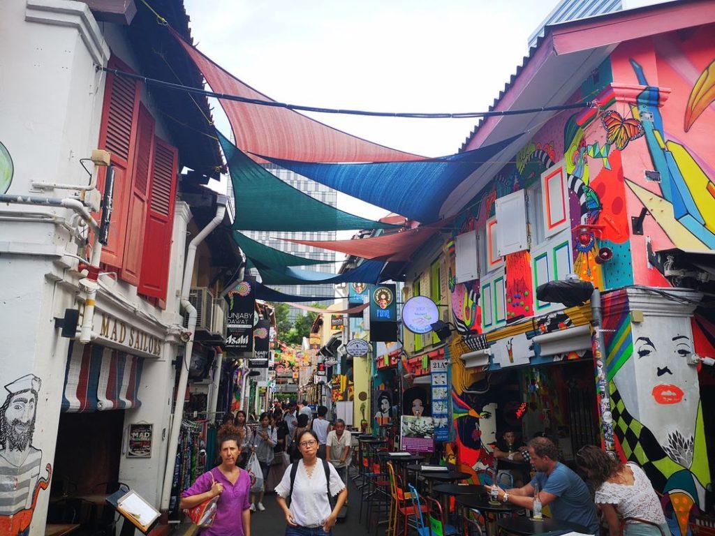 Haji Lane, rue de vie nocturne au sein du quartier musulman