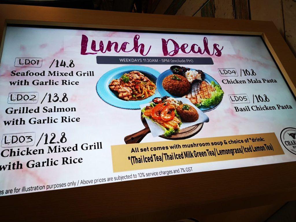 Offre spéciale repas de midi