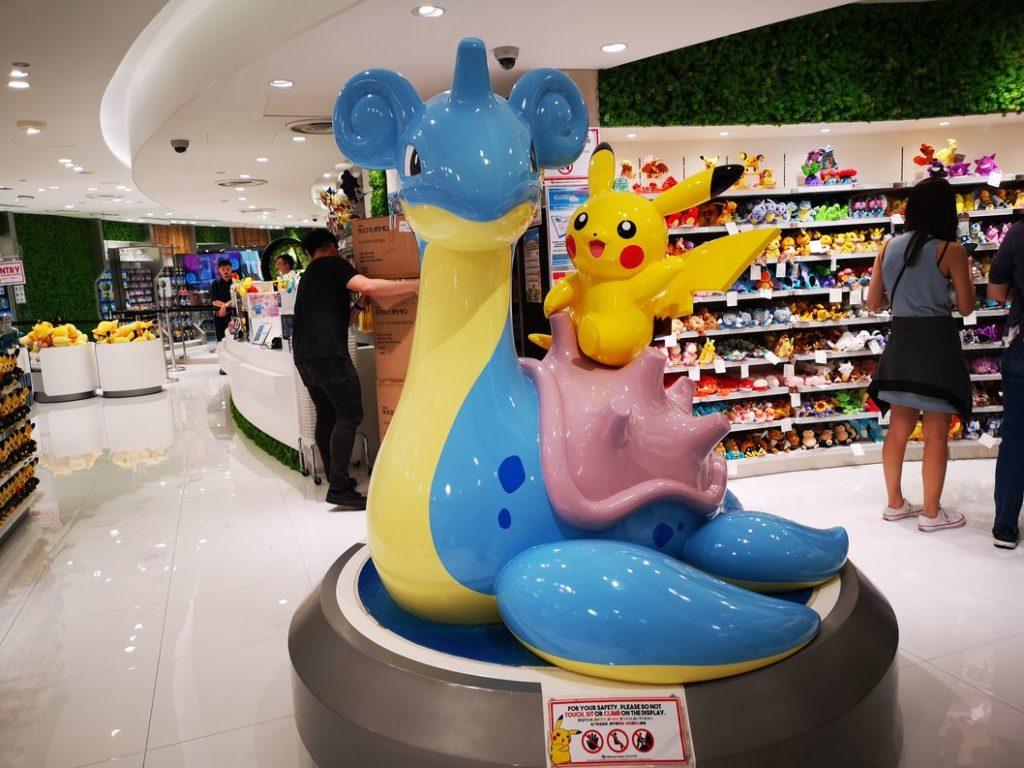 Pikachu sur Lokhlass, quelle classe !